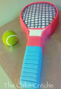 Girl-Tennis-Racket-cake