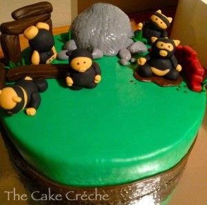 NInja-Pigs-cake