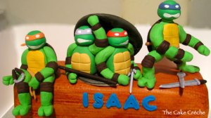 Ninja-Turtles-fondant-figurines