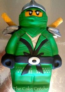 Ninjago-Green-Ninja-cake