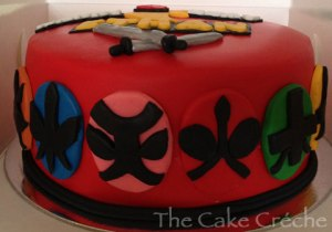 Power-Rangers-Samurai-cake