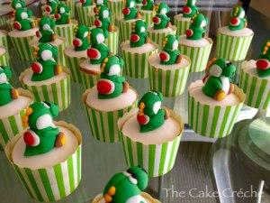 Yoshi-cupcakes