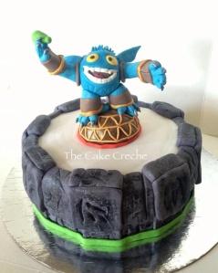 Skylander popfizz cake