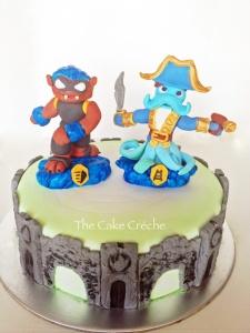 Swap force portal cake
