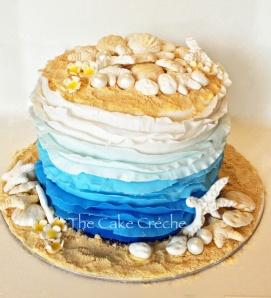 Beach Wave cake