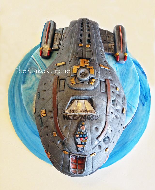 Image result for star trek voyager birthday cake
