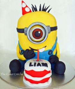 Minion Birthday Cake2