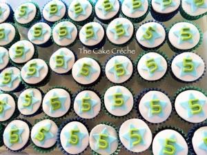 Cupcakes 5th birthday