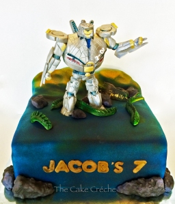 Pacific Rim Eureka Striker cake