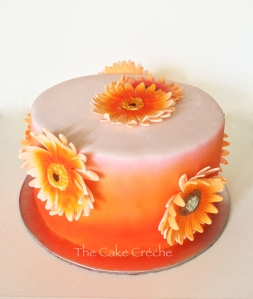 peach and orange cake