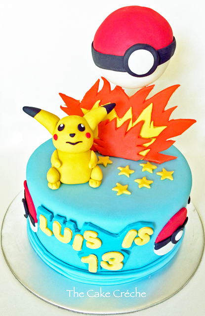 Publix Pokemon Cake