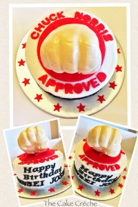 Chuck Norris Approved cake