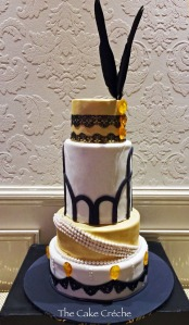 Great Gatsby cake copy