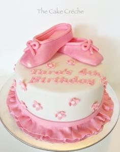 Pink Ballet cake