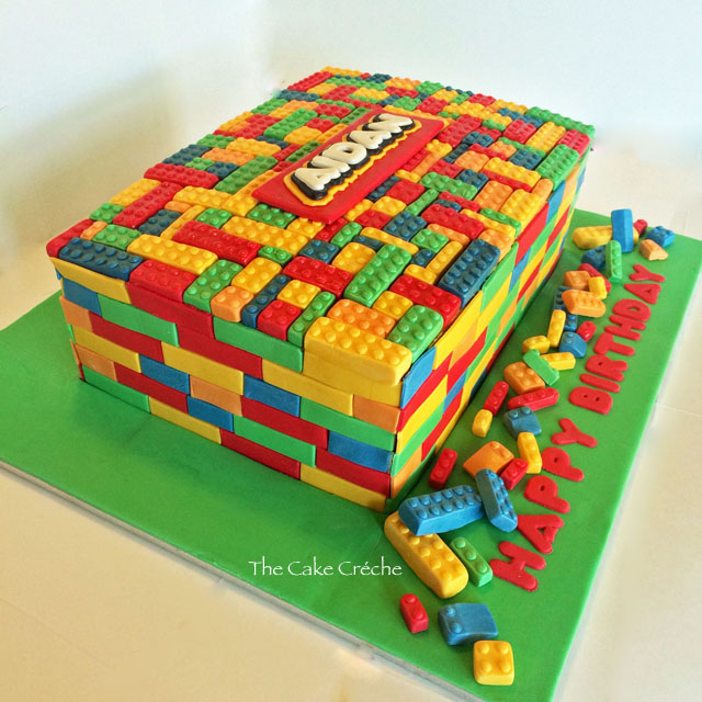 Lego Blocks Cake Design : Lego cake The Cake Creche