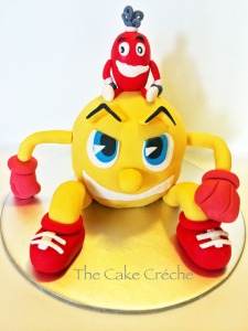 Pacman and the Ghostly adventures cake