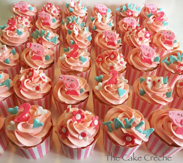 Peppa pig cupcakes The Cake Crche