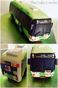 Free shuttle bus cake