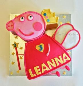 Peppa Pig Fairy cake 2